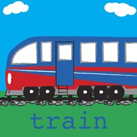 Train - Modern by Melanie Parker - various sizes