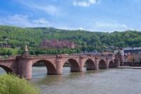 Carl Theodor Bridge, Heidelberg Castle Fine Art Print