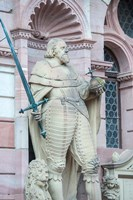 Sculpture of Frederick IV, Heidelberg Castle Fine Art Print