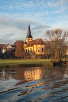 Church in Morning Light by Lisa S. Engelbrecht - various sizes