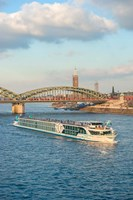 Scylla Tours Riverboat on The Rhine River by Lisa S. Engelbrecht - various sizes