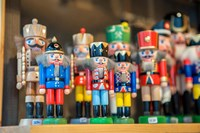 Wooden Nutcrackers Fine Art Print