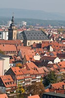 Skyline of Bamberg, Germany Fine Art Print