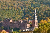 Heidelberg's Old Town, Germany Fine Art Print