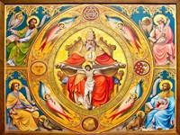 Altar Painting, Cologne, Germany by Miva Stock - various sizes
