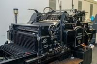 Gutenberg Printing Press, Gutenberg Museum by Jim Engelbrecht - various sizes