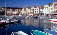Harbor View, Cassis, France by Walter Bibikow - various sizes