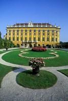 Schonbrunn Palace, Vienna, Austria Fine Art Print