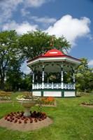 Nova Scotia, Victorian City Garden Fine Art Print