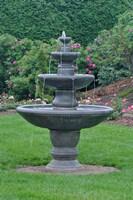 Fountain at KIngsbrae Garden Fine Art Print
