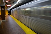 Toronto Subway Train Fine Art Print