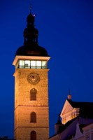 Church Tower, Ceske Budejovice Fine Art Print