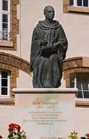 Courtyard Statue, Reims, Champagne Fine Art Print