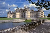 France, Chateau Chambord, Loire Valley Fine Art Print