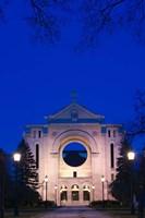 St Boniface Basilica Ruins Fine Art Print