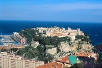 Principality of Monaco at Monte Carlo, France Fine Art Print