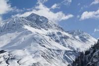 French Alps in Winter Fine Art Print