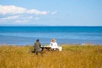 New Brunswick, Acadia, Miscou Island romance Fine Art Print