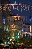 Christmas Lights in Paris Fine Art Print