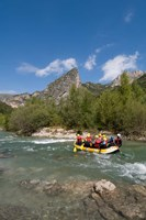 Rafting on Verdon River,  Provence, France Fine Art Print