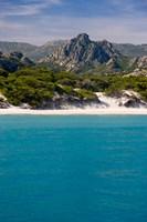 France Corsica Saleccio Beach Fine Art Print