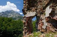 Genoese Fort Ruins, Corsica, France Fine Art Print