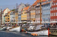 Nyhavn, Copenhagen, Denmark Fine Art Print