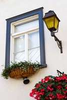 Old Town Window Fine Art Print