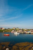 Peggy's Cove Fishing Village Fine Art Print