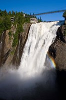 Montmorency Falls, Quebec City Fine Art Print