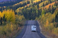 Dempster Highway in the Fall Fine Art Print