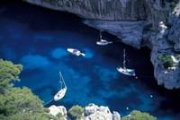 Mediterranean Coast of the French Riviera Fine Art Print