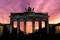 Berlin Brandenburg Gate, Germany Fine Art Print