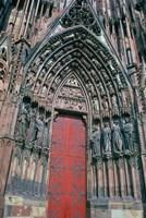 Cathedral Entrance, Strasbourg, France Fine Art Print