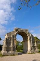 Triumphal Arch, St Remy de Provence, France Fine Art Print