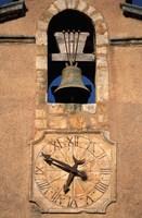 Church Bell and Clock Fine Art Print