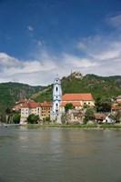 Castle on Danube River Fine Art Print