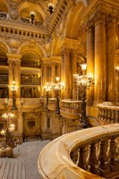Interior of Garnier Opera House Fine Art Print