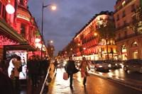 Boulevard Haussmann, Paris, France Fine Art Print