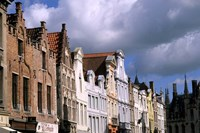 Buildings in Bruges, Belgium Fine Art Print