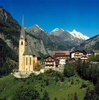 Austria, Hohe Tauern Alps Framed Print