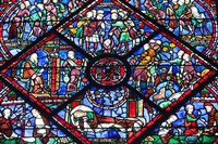 Chartres Cathedral Stained Glass Fine Art Print