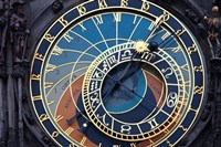 Prague Astronomical clock Fine Art Print