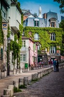 Morning in Montmartre Fine Art Print