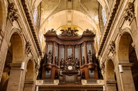 Pipe Organ in Eglise Saint Sulpice Fine Art Print
