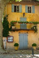 Home in Cucuron, Provence, France Fine Art Print
