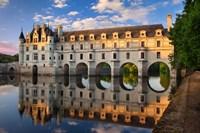 Chateau Chenonceau, Castle, France Fine Art Print