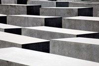 Memorial to the Murdered Jews of Europe Fine Art Print
