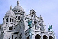 Sacred Heart Cathedral in Montmartre, Paris Fine Art Print