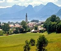 Lake St Wolfgang, Austria Fine Art Print